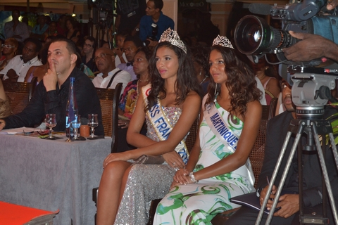 Miss France 2015 : Miss Martinique 2014 en Robe de Mari�e Philippe Apat