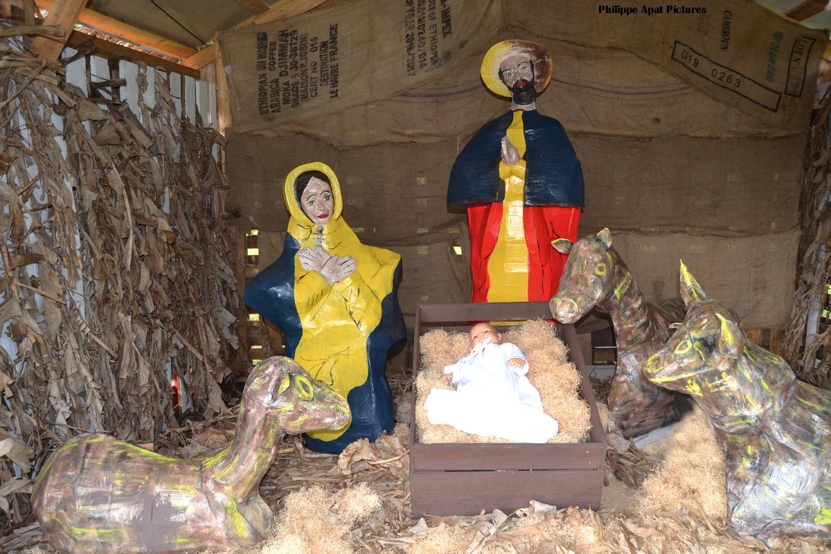 crèche de Noël Martinique