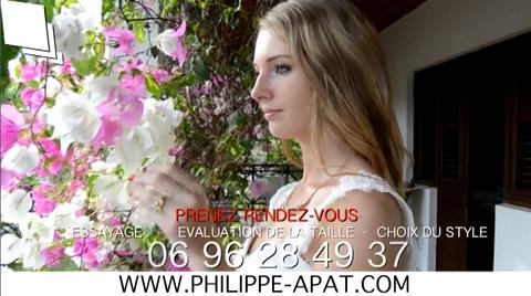 Robe de Mariée 2016 2017 Philippe Apat