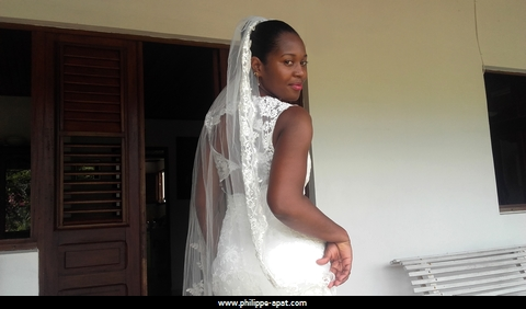 Robe de Mari�e Martinique 2017