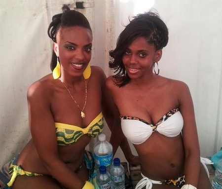 Cindy Germ� et Danielle Mode Antillaise