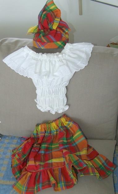déguisement femme antillaise