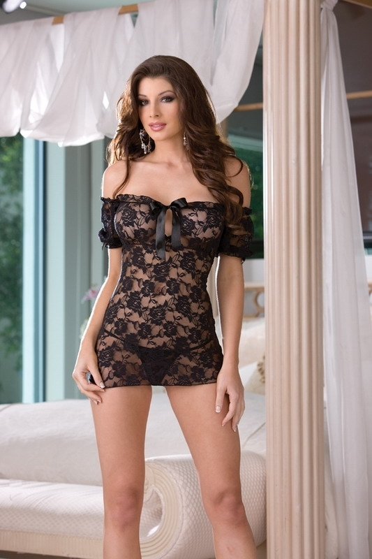 lingerie martinique nuisette hot