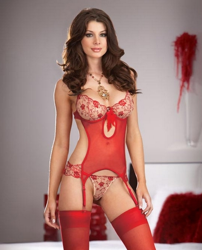 lingerie martinique nuisette No�l 2015