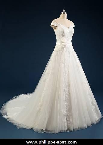 Robe de mariée 2016 glamour