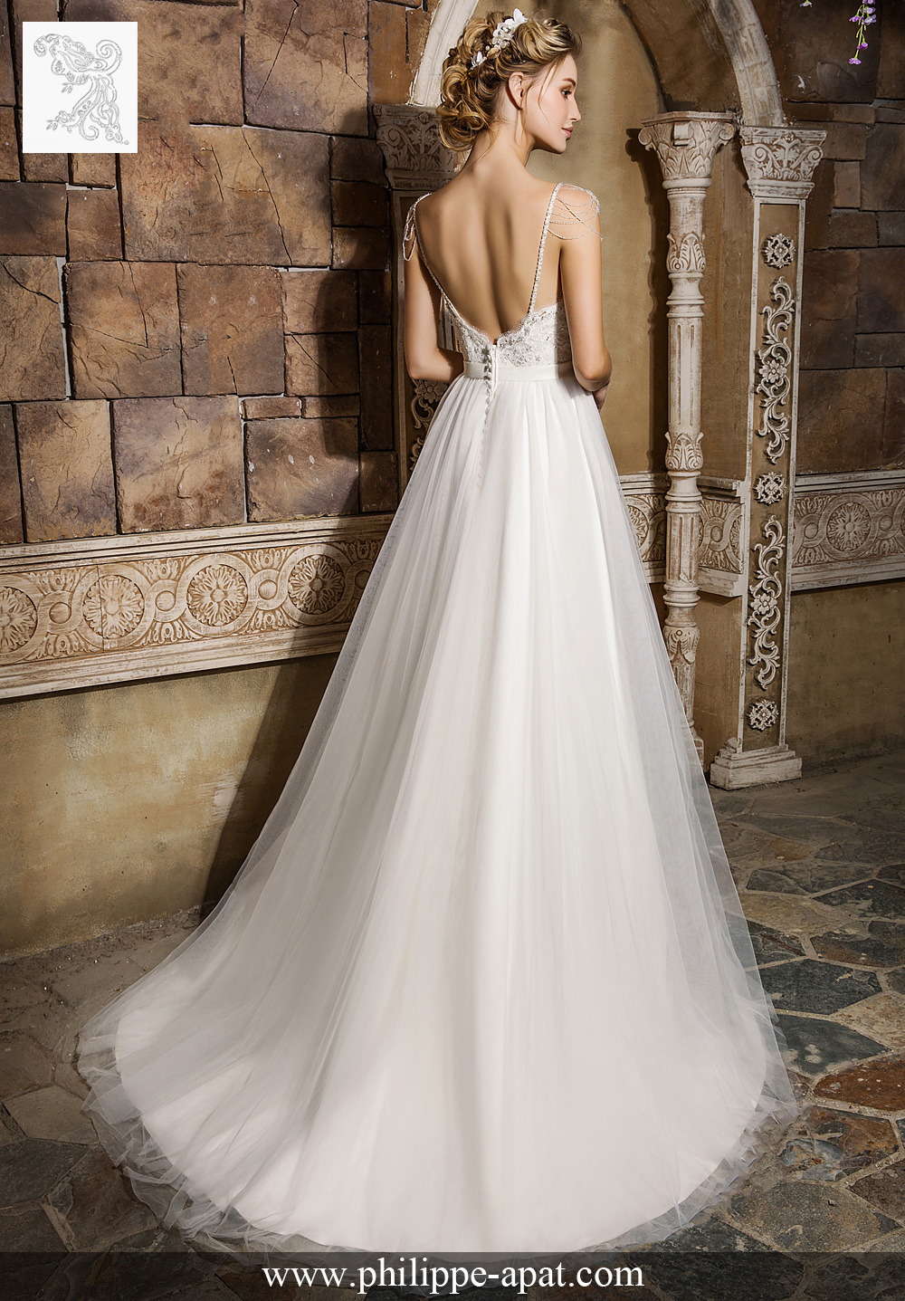 Collection de Robes de Mariée 2018 2017 Philippe Apat