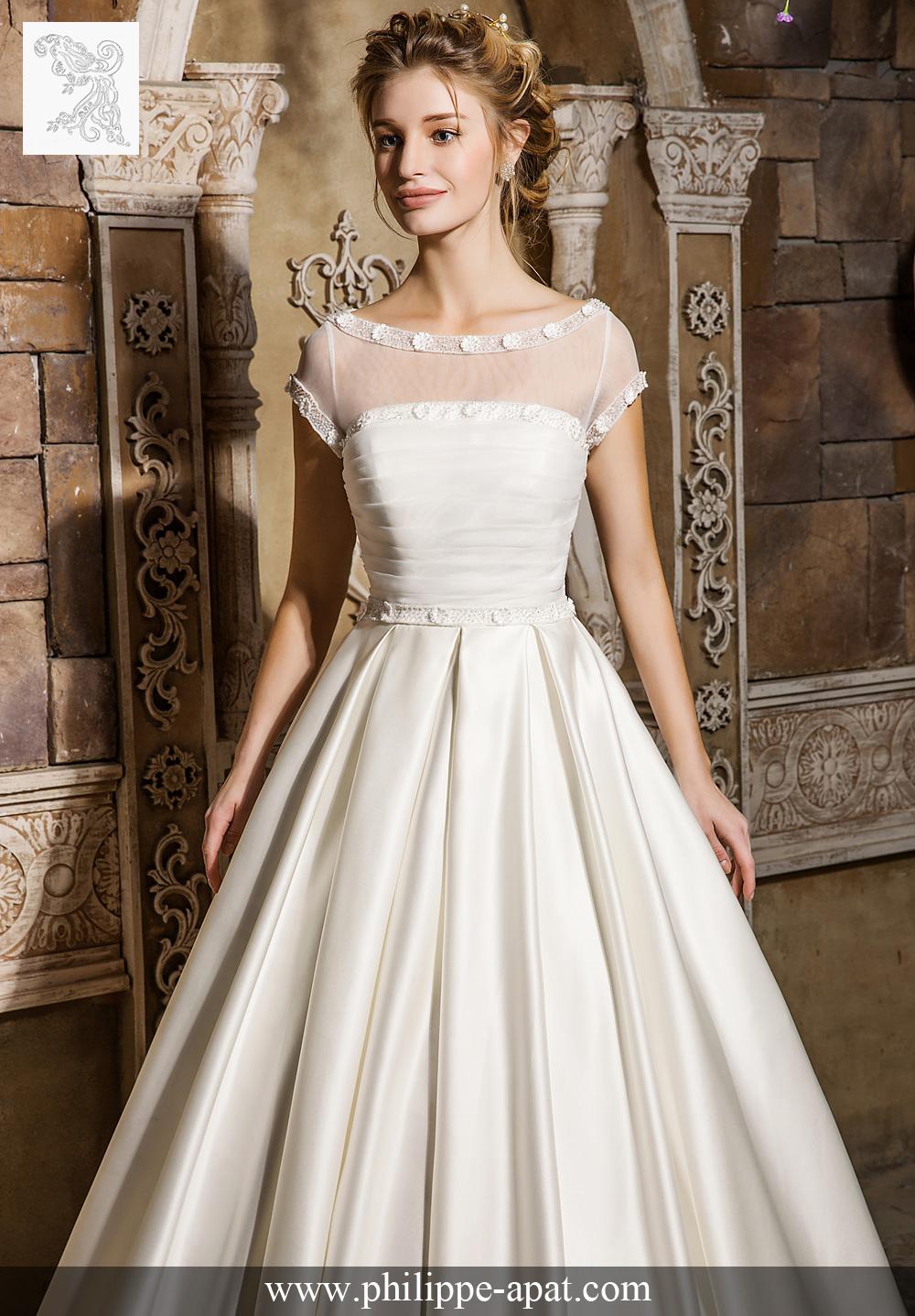 robe de mariée hermione 2017 jolie robe de mariée bustier en satin ...
