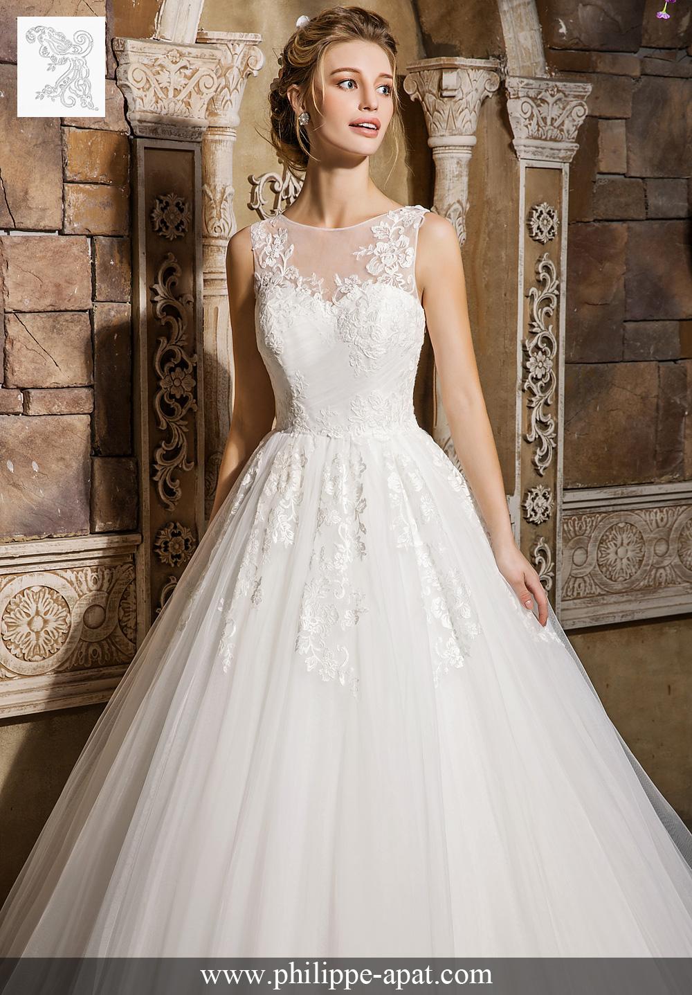 robe de mariée danielle 2017 robe de mariée en tulle de princesse ...