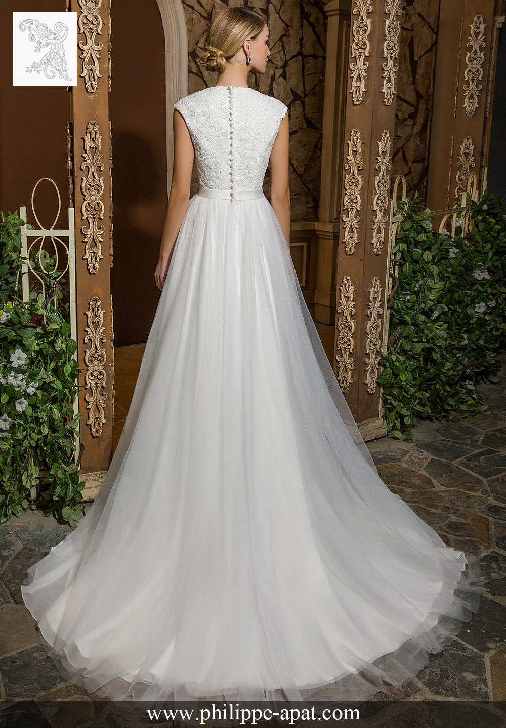 Robe de mariee bea 2017 mariage Philippe Apat