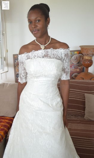 Robe de Mariée de Martinique Philippe Apat