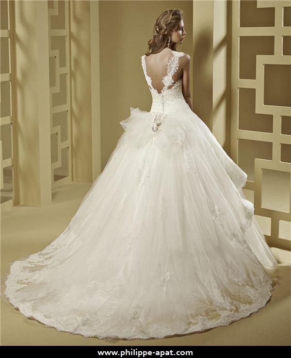 robe de mariée bustier svetlana robe de mariée bustier à bretelles ...