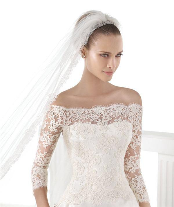 Robes de mari e 2017 top class dentelles for Robes de mariage haut de gamme