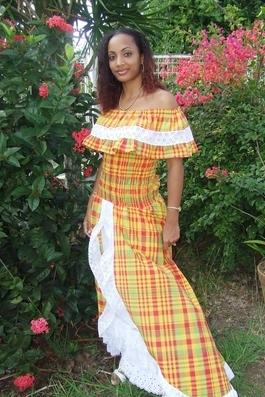 Robe Creole De Mariage Martinique Philippe Apat