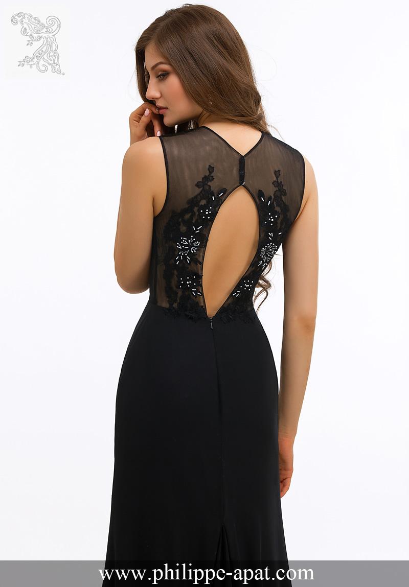 Model robe soiree noire