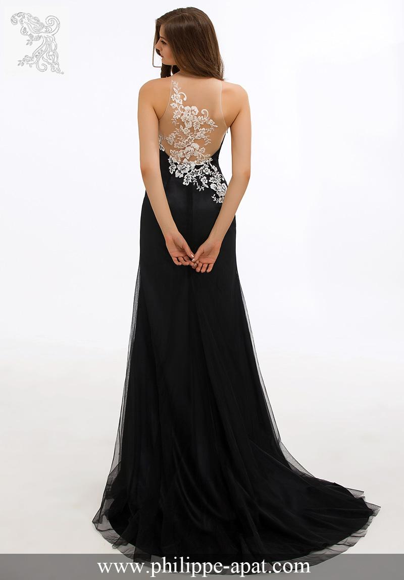 robe de soiree noir et dore langue belle robe photo blog. Black Bedroom Furniture Sets. Home Design Ideas