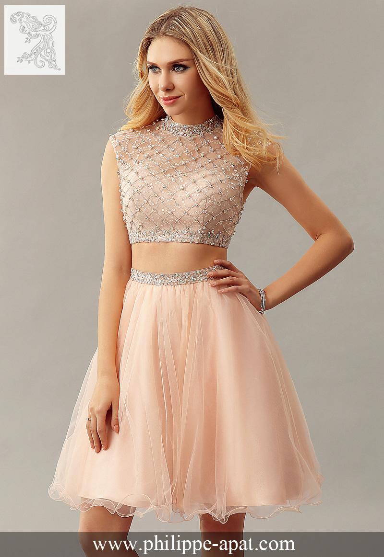 Model de robe de soiree courte 2017