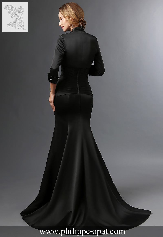 robe de soir e 2016 2017 philippe apat longue courte martinique. Black Bedroom Furniture Sets. Home Design Ideas