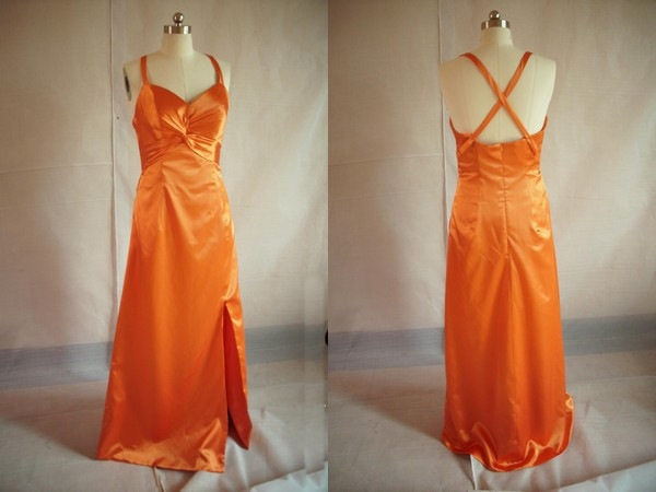 Robe de Cocktail Orange 2010-2011