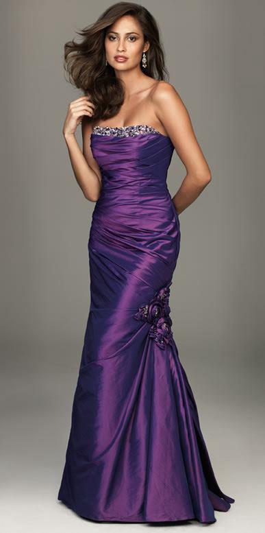 great blog robe robe longue de soiree violette. Black Bedroom Furniture Sets. Home Design Ideas