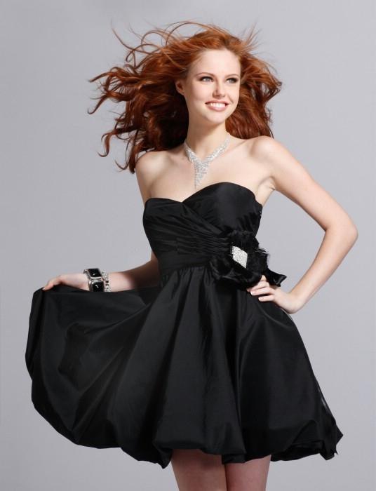 Les robe de soiree courte noir