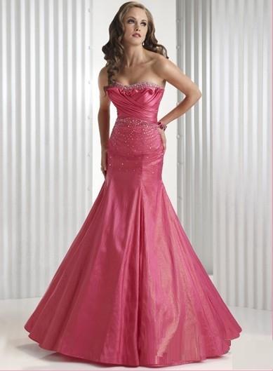 Robe de soiree mariage rose