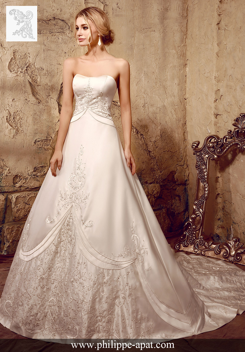 6f80fe217e6 Robes de mariée 2016 robe de mariée simple